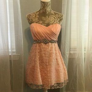 Dresses & Skirts - Blush Pink Cocktail Dress